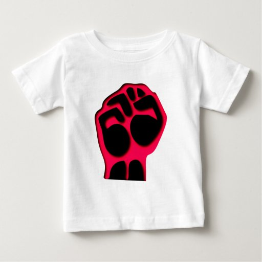 red fist talk fist baby T-Shirt