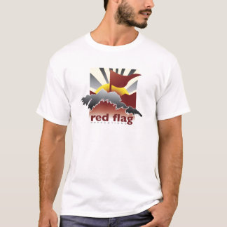 Red Flag Movie Productions © Logo T-Shirt