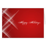 Red Flair Holiday Card