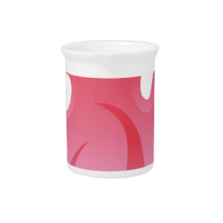 Red Flame Fire Icon Pitcher