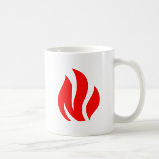 Red Flame sign Coffee Mug