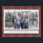 """Red Flannel Holiday Photo Card Jigsaw Puzzle<br><div class=""""desc"""">Photography &#169; Loren Kerns: www.flickr.com/people/lorenkerns/ and provided by Creative Commons: https://creativecommons.org/licenses/by/2.0/</div>"""