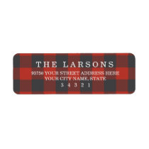 Red Flannel Label