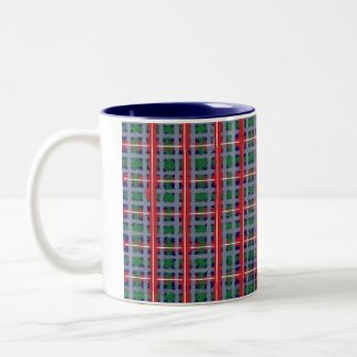 Red Flannel Mug mug