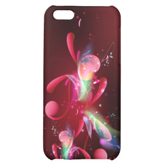 Red Flare IPhone Case Cover For iPhone 5C