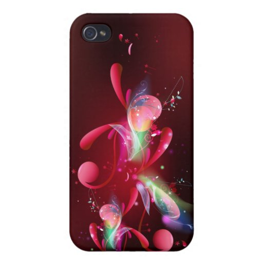 Red Flare IPhone Case iPhone 4/4S Cases