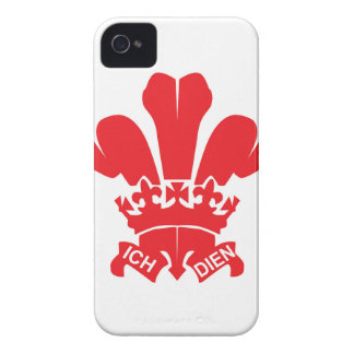 Red Fleur de Lis iPhone 4 Case-Mate Case