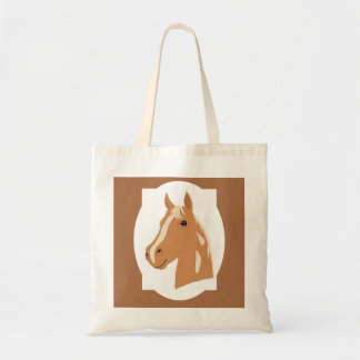 Red Flight the Happy Horse Tote Bag