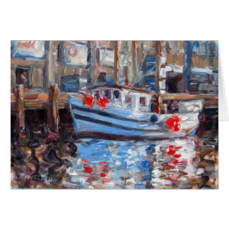 Red Floats, Humboldt Bay Card