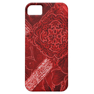 Red Floral Collage Case-Mate iPhone 5 iPhone 5 Cover