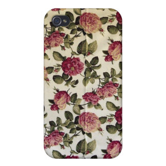 Red Floral iPhone 4 Case