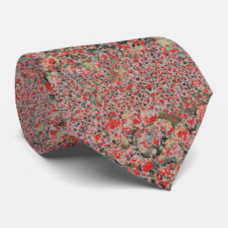 Red Floral Pattern tie, sophisticated, artsy, good Neck Tie