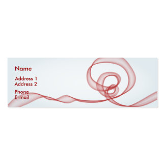 Red Flow Mini Business Card