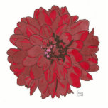 RED FLOWER (alternate) Cut Outs