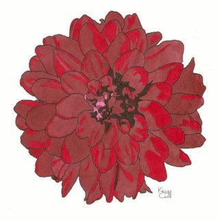 RED FLOWER (alternate) Statuette