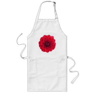 Red Flower Apron