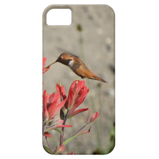 Red flower bird iPhone 5 cover