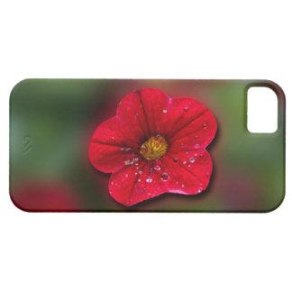 Red Flower Blur iPhone SE/5/5s Case