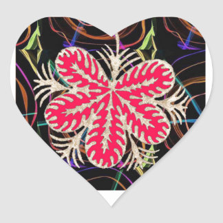 RED Flower Custome Template ADD Text move img fun Heart Sticker