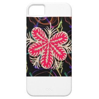 RED Flower Custome Template ADD Text move img fun iPhone SE/5/5s Case