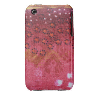 Red Flower Design iPhone 3G/3Gs, Barely There Case-Mate iPhone 3 Cases