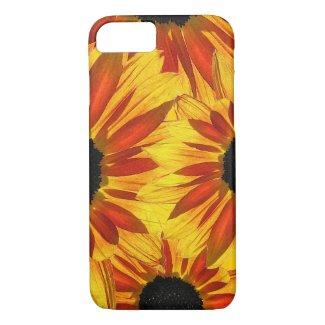 Red Flower Garden Sunflower Abstract iPhone 7 Case