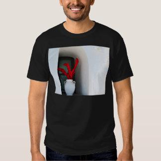 Red Flower in Vase Tee Shirt