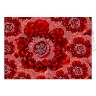 Red Flower Journey - Fantasy Worship World Card