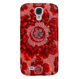 Red Flower Journey - Fantasy Worship World Galaxy S4 Cases