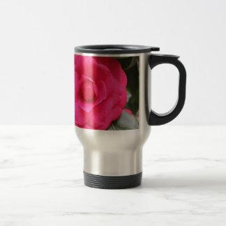 Red flower of Camellia japonica Rachele Odero Travel Mug