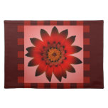 Red Flower Placemats