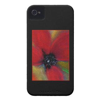 Red Flower Poppy Case-Mate Blackberry Case