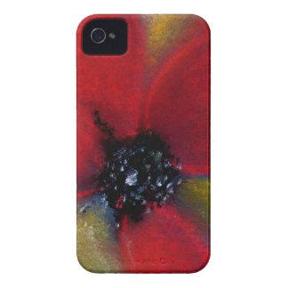 Red Flower Poppy Blackberry Bold Case