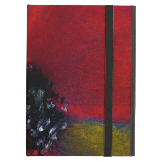 Red Flower, Poppy. iPad Cover