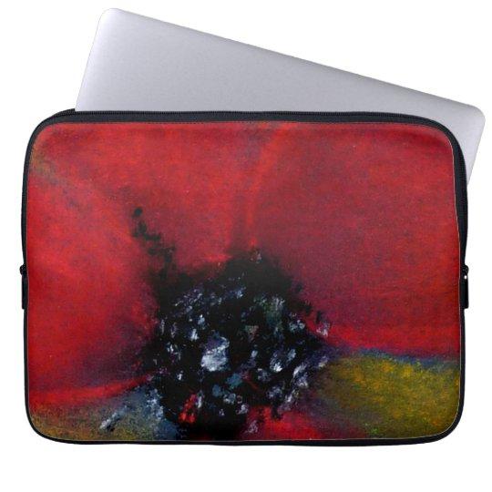 Red Flower, Poppy. Laptop Sleeve