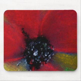 Red Flower, Poppy. Mousepad