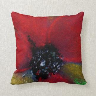 Red Flower, Poppy. Pillows