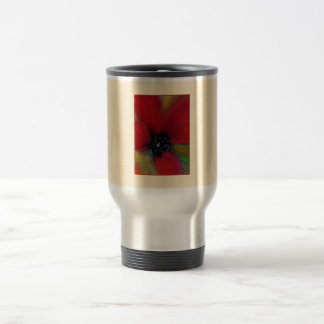 Red Flower, Poppy. Travel Mug