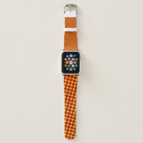 Red Flower Ribbon by Kenneth Yoncich Apple Watch Band