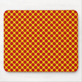 Red Flower Ribbon by Kenneth Yoncich Mouse Pad