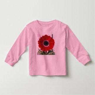 Red Flower T Shirt