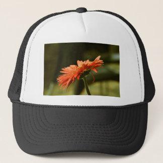 Red Flower Trucker Hat