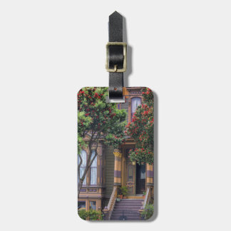 Red Flowering Gum Tree Frames Victorian Style Bag Tag