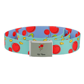 Red Flowers Belt