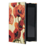 Red Flowers Cover For iPad Mini