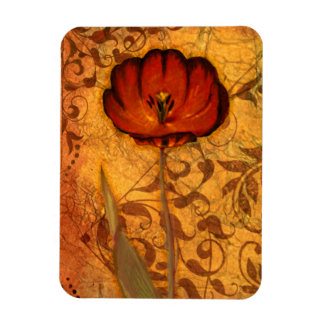 Red Flowers I Magnet