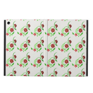 Red Flowers iPad Air Case