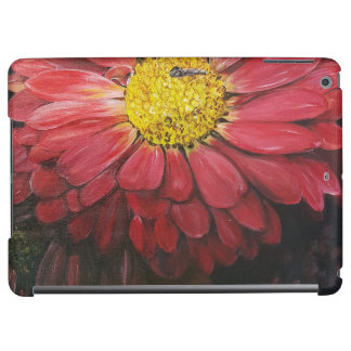 Red flowers ipad hoesje iPad air case