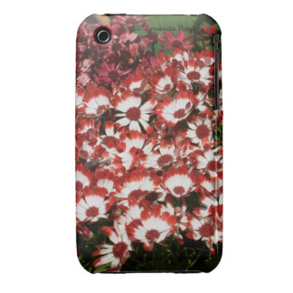 Red Flowers iPhone 4 Barely There Case