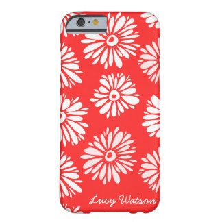 Red Flowers iPhone 6 case